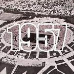 """Stadionul """"23 August"""", Bucureşti [imagine aeriană]"""