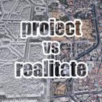 PROIECT vs REALITATE : Centrul Civic, Bucureşti [aeriană]