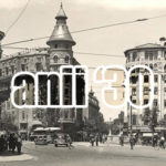 La podul Izvor, Bucureşti
