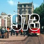 staţie de tramvai la Piaţa Sf. Gheorghe, Bucureşti